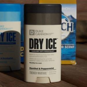 DRY ICE COOLING ANTIPERSPIRANT + DEODORANT (PEPPERMINT & MUSK)