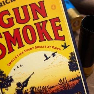 BIG ASS BRICK OF SOAP - GUN SMOKE